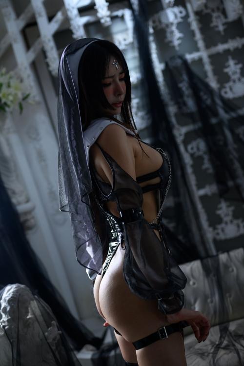 秋和柯基(夏小秋秋秋) XiaXiaoqiu Bondage cosplay 65