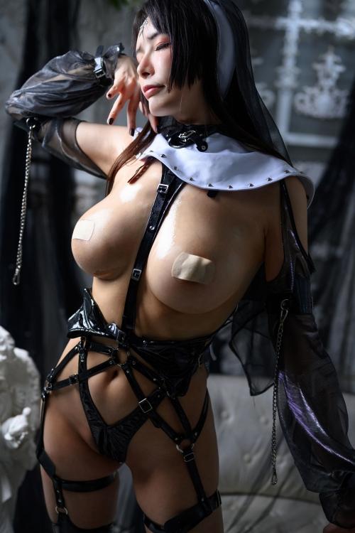 秋和柯基(夏小秋秋秋) XiaXiaoqiu Bondage cosplay 97