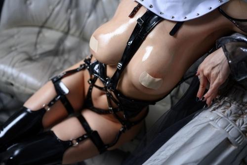 秋和柯基(夏小秋秋秋) XiaXiaoqiu Bondage cosplay 108