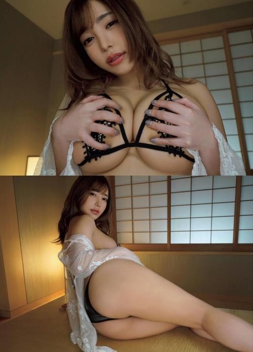 夢見るぅ Iカップ無毛ヌードグラビア 02