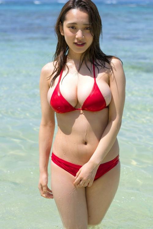 グラビアアイドル ビキニの水着 10
