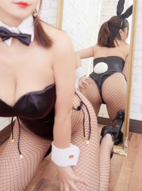 バニーガール Bunnygirl Cosplay 41