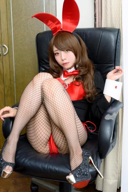 バニーガール Bunnygirl Cosplay 15