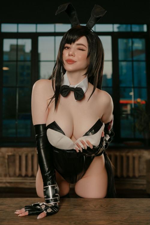 バニーガール Bunnygirl Cosplay 07