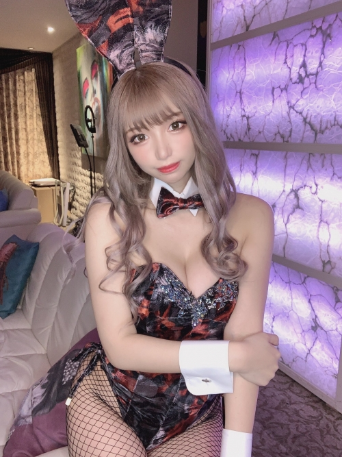 バニーガール Bunnygirl Cosplay 09