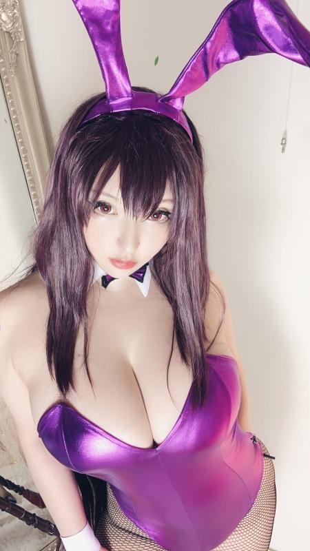 バニーガール Bunnygirl Cosplay 26