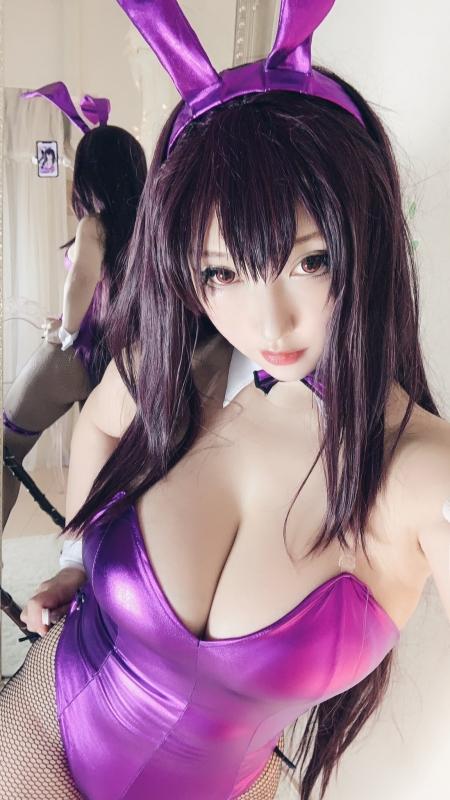 バニーガール Bunnygirl Cosplay 27