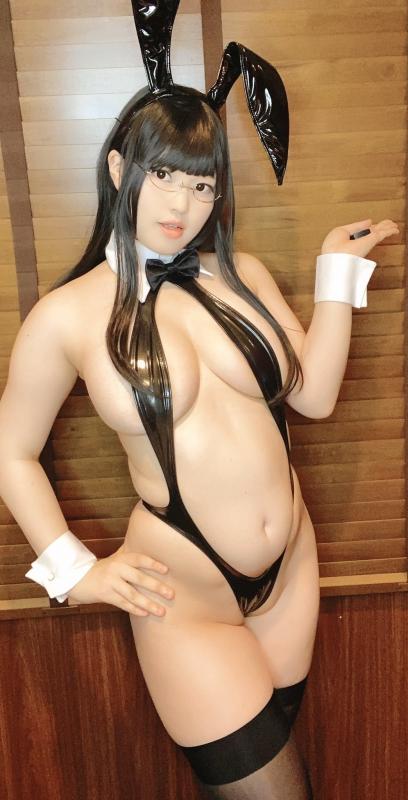 バニーガール Bunnygirl Cosplay 69