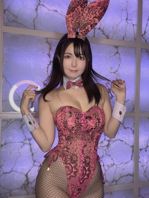 バニーガール Bunnygirl Cosplay 90