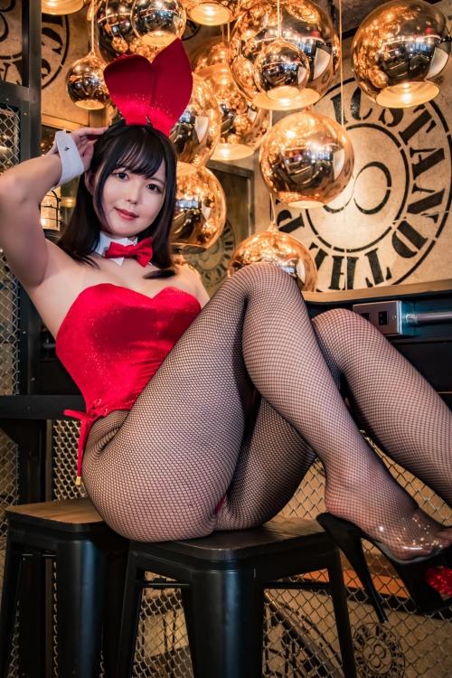 バニーガール Bunnygirl Cosplay 94