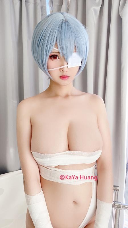 KaYa Huang 萱 Cosplayer 露出コスプレイヤー 06