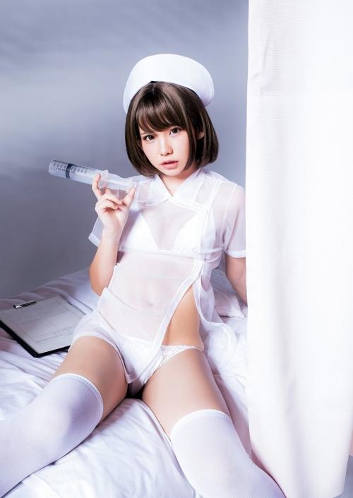 性的なナースコスプレ 01