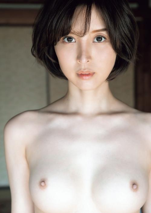 AV女優 舐めて吸いたくなるエロい乳首のおっぱい 03
