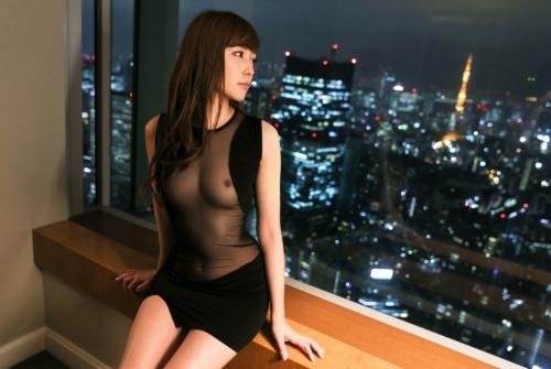 AV女優 舐めて吸いたくなるエロい乳首のおっぱい エロ画像 44