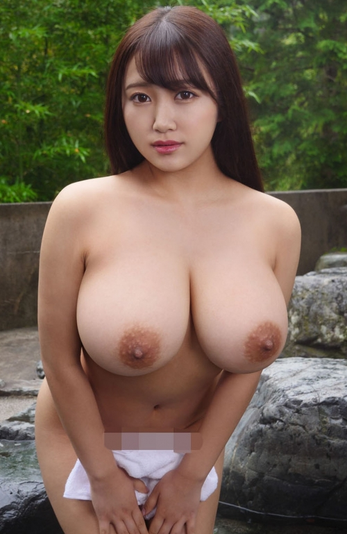 AV女優 舐めて吸いたくなるエロい乳首のおっぱい エロ画像 87