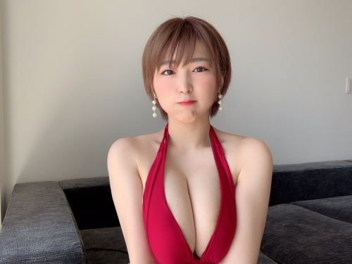 AV女優 おっぱいの谷間 エロ画像 47