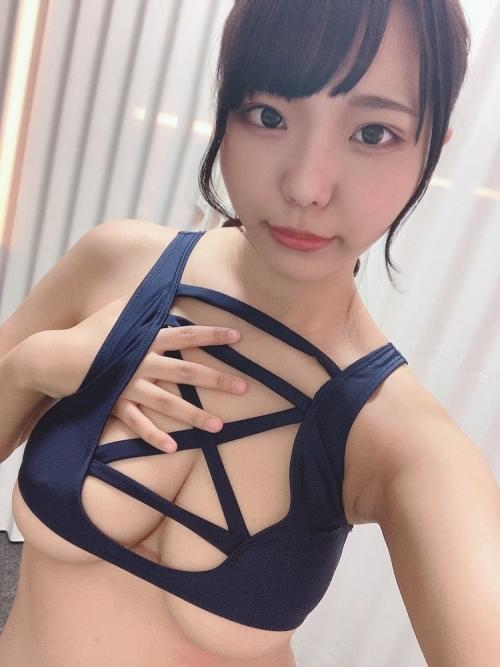 AV女優 おっぱいの谷間 エロ画像 20