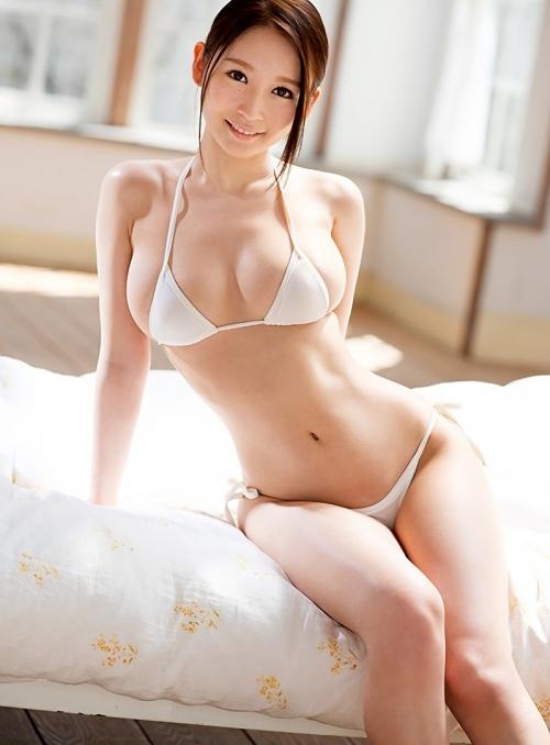 AV女優 白ビキニ 14