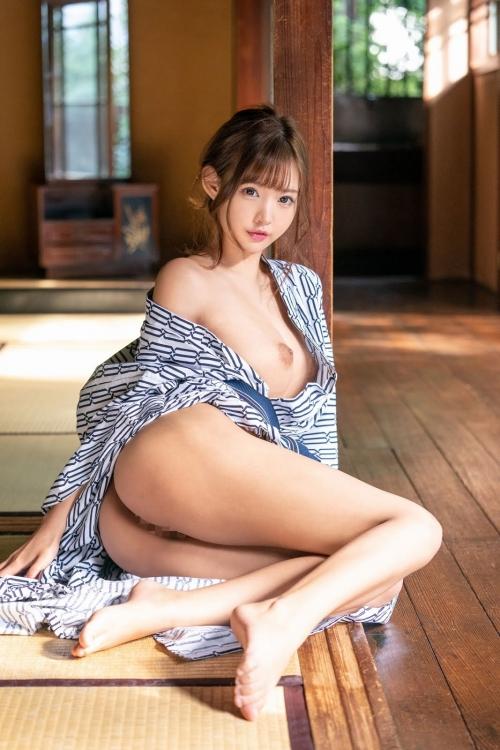 浴衣のセクシーヌード AV女優 34