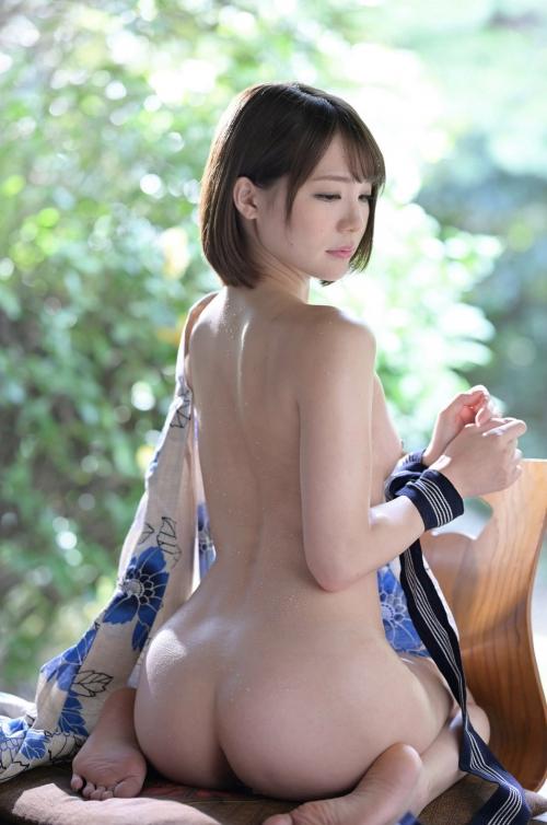 浴衣のセクシーヌード AV女優 46