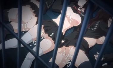輪姦レ●プ凌辱で種付けされる制服少女!地獄のような拷問調教プレイでスカト口三昧!