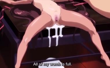 「ザーメンきたぁぁーーー!!」子宮直撃の巨根プレスで白濁液漬けにされる美乳娘がアへ堕ち!