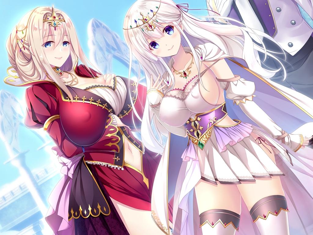 淫獄の姫騎士姉妹 オークの家畜苗床CG・画像