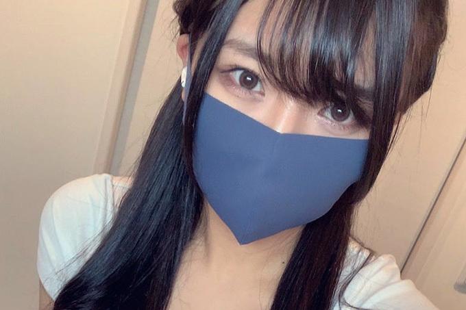期待しちゃうマスク美人。