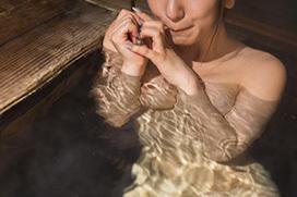 温泉美人のエロ画像 湯けむりヌード130枚