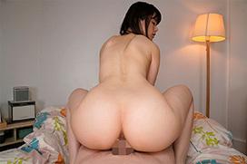 騎乗位の最中の女の尻のエロ画像 part6