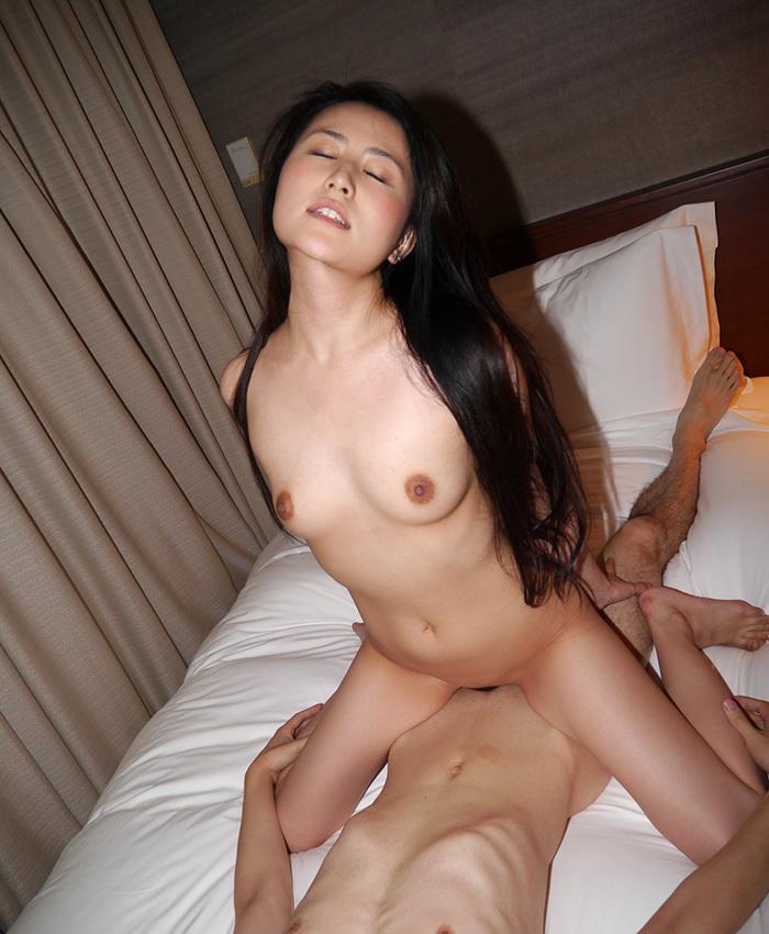 騎乗位 セックス 画像 89