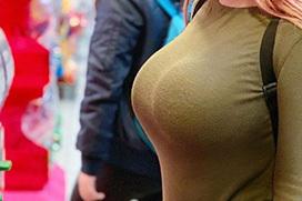 乳の暴力こと着衣おっぱいのエロ画像 part43