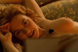 「タイタニック」の濡れ場エロシーン!ケイト・ウィンスレット、乳首ヌードがエロい!色んな映画でおっぱい見せすぎw