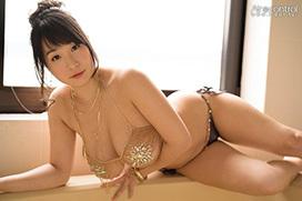 グラドル桐山瑠衣が新作イメビで30歳Kカップ爆乳となったボディを見せるぞ!