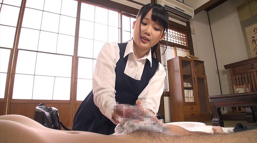 石鹸でチンポを洗ってくれる女子校生