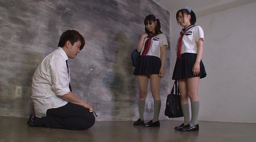 セーラー服の女子校生