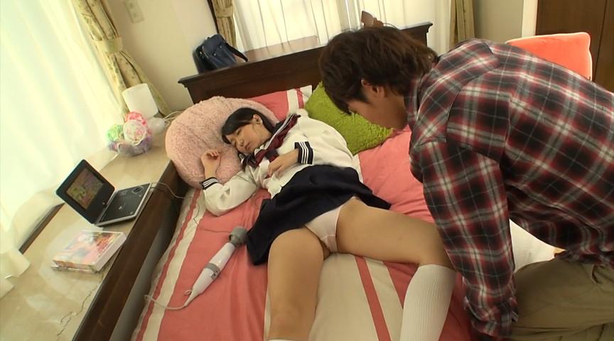 寝てる妹にイタズラしようとしてる兄