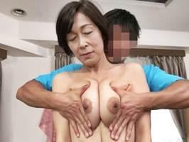 【五十路】垂れた巨乳が超柔らかい性豪の中高年マダム