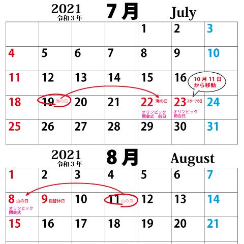 カレンダー2021_07