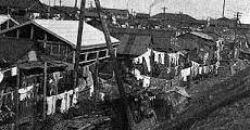 昭和初期の大阪貧民屈