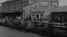 昭和30年代の淡路港