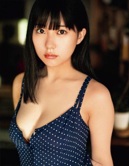 HKT田中美久 ほぼ裸の1st写真集で話題 Fカップ巨乳だった おっぱい画像