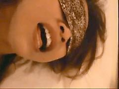 【無 個人撮影】アナルも調教済みな美熟女と目隠しハメ撮り!