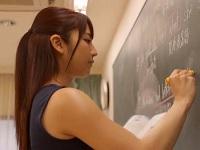 人妻・熟女の食べ頃:【動画】 憧れのスタイル抜群な美人教師が実はヤリマンで図書室で喘ぎまくりw 神咲詩織