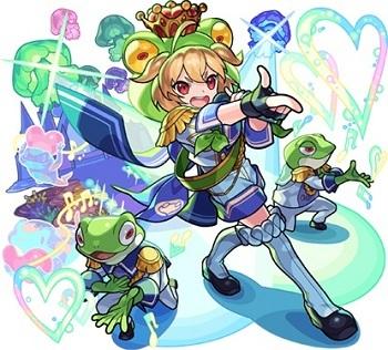 愛を届けし蛙のアイドルキング ケロン