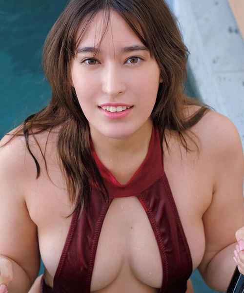 平田梨奈 元AKBハーフ巨乳美女のFカップどすけべダイナマイトボディに釘付け