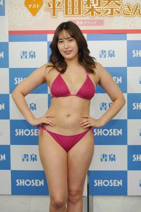 平田梨奈 Fカップ巨乳のダイナマイトボディ51