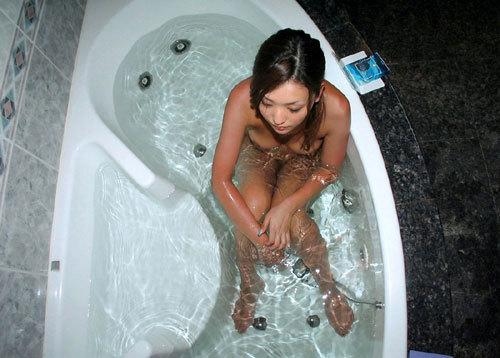 お風呂でお姉さんのおっぱいに癒やして欲しい15