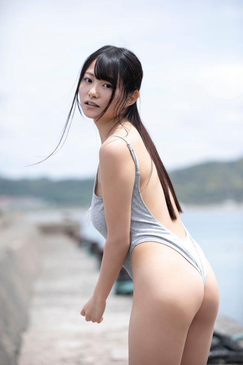 Iカップグラドル桜井木穂のダイエット後の姿が可愛くてええな!