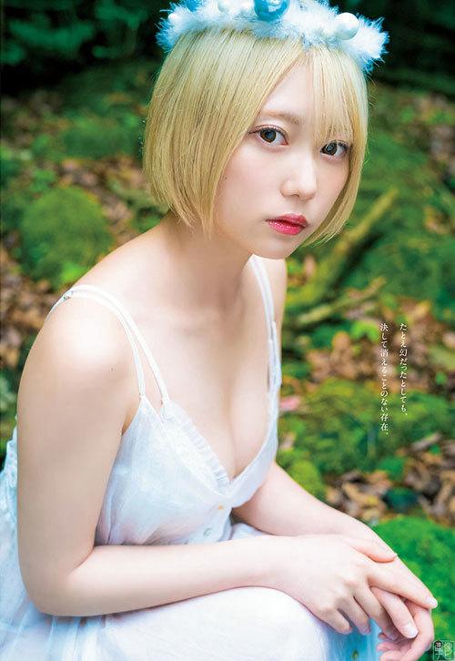 篠崎こころ 金髪ショートのフェティッシュ美少女